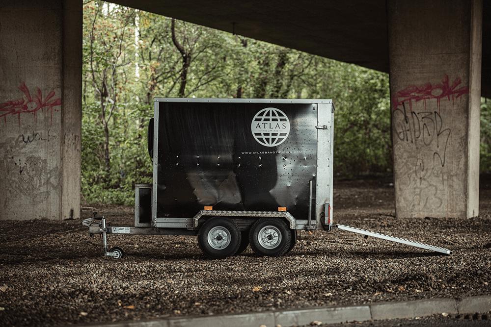 atlas band touring trailer
