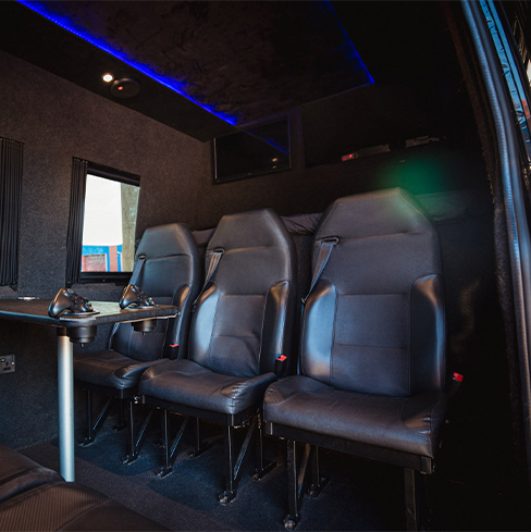 luxury van hire